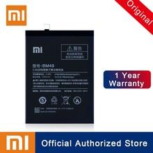 Xiao Mi 100% Original BM49 For Xiaomi Max Batterie 4760mAh Real Capacity Rechargeable Phone Batteria Akku + Free Shipping