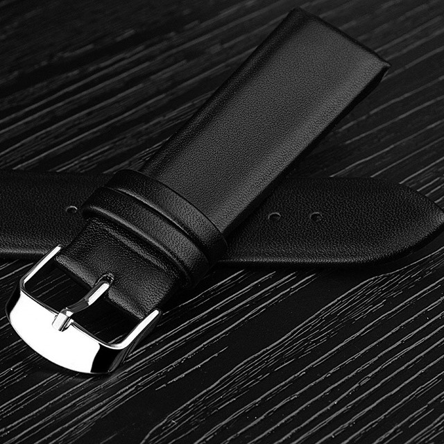 Watch Band Genuine Leather Straps Watchbands 12mm 14mm 16mm 18mm 20mm 22mm Watch Accessories Women Men Brown Black Belt Band