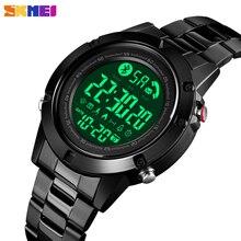 SKMEI Smart Bluetooth Digital Watch Men Sport Waterproof Cal