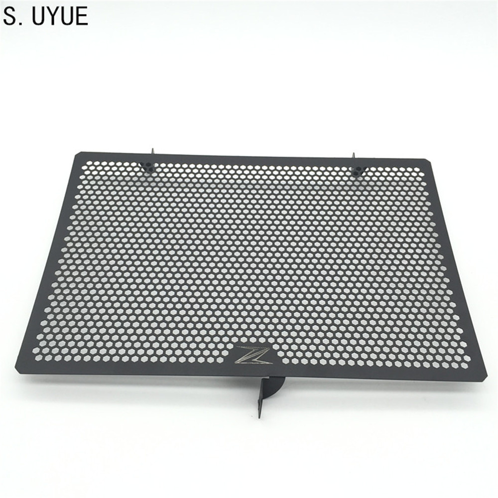 S.UYUE 2017 New Stainless Steel Motorcycle Radiator Grille Guard Cover Protector For Kawasaki Z750 Z800 ZR800 Z1000 Z1000SX new motorcycle stainless steel radiator grille guard protection for yamaha tmax530 2012 2016