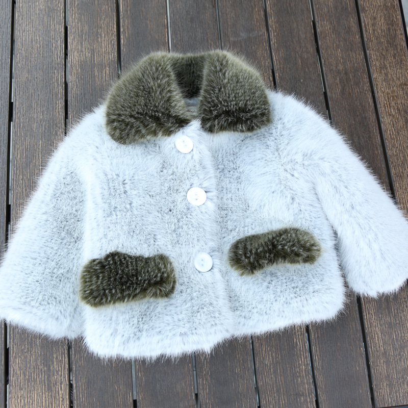 2018 Winter Children Faux Fur Thicken Jackets Unisex Faux Fur Coats and Outerwear for Girls and Boys Keep Warm Clothing for Kids children s unisex faux fur clothing 2018 winter girls and boys patchwork faux fur jackets boys long faux fur outerwear kids coat