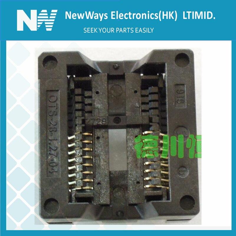 IC test Socket SOP16 to DIP16 300mil 1.27mm programmer adapter
