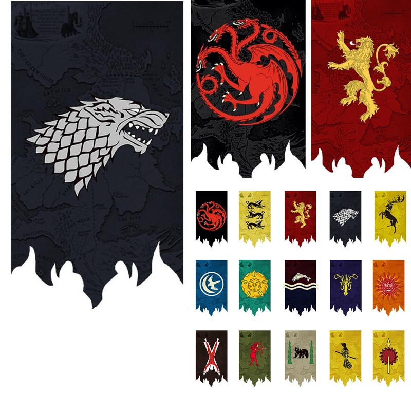 Download Game Of Thrones Stark Banner  Gif