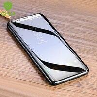 CHYI 3D Gebogen Film Voor Samsung Galaxy S10 + Screen Protector Gebogen Ronde rand S8 S9 Plus Voor Samsung Note 8 niet Gehard Glas