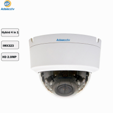 SONY IMX323 Varifocal lens 1080P Hybrid AHD CVI TVI CVBS 4 IN 1 OSD Menu Free Switch CCTV Dome Camera AR-MHD2214R4