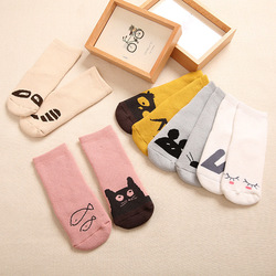5 pairs set baby socks for baby girl boy calcetines bebe thick terry socks set winter.jpg 250x250