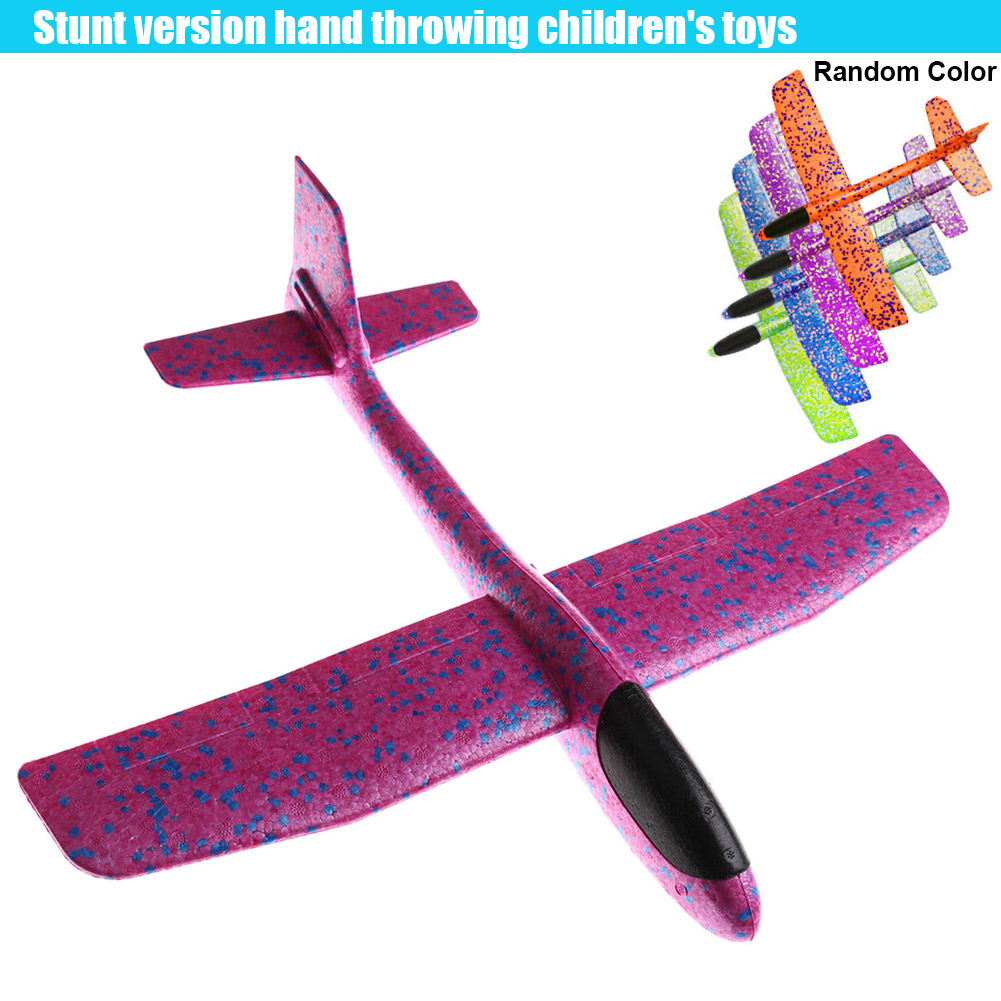 New EPP Foam Hand Throw Convolution Airplane Outdoor Durable Launch Glider Plane Kids Toy image