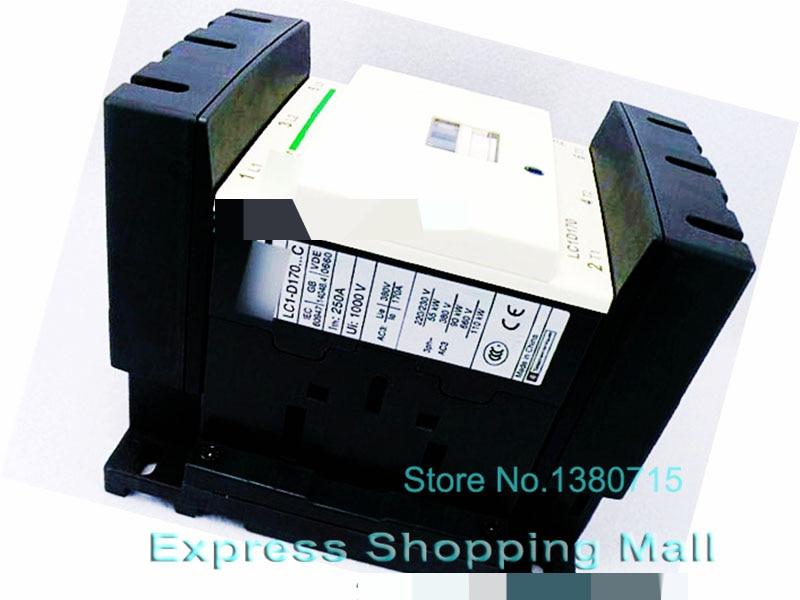 New LC1D17000Q7C 170A AC 380V 50/60Hz TeSys D Contactor LC1-D17000Q7C ac contactor lc1f115d7 lc1 f115d7 42v lc1f115e7 lc1 f115e7 48v lc1f115f7 lc1 f115f7 110v lc1f115g7 lc1 f115g7 120v