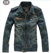 Autumn Mens Jackets Denim Winter Male Jeans Jackets Mens Bomber Jacket Vintage Blue Outwear Coat And Jackets For Men A2083
