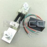 DC Ammeter Digital Current Meter DC 0 200A Ampere Meter Green Led Display Panel Meter DC12V