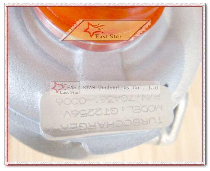 GT2256V 704631 704361-5006S Turbocharger For BMW 330 D E46 X5 E53 1999-04 M57D D30 E46 E53 3.0L D 185HP (2)