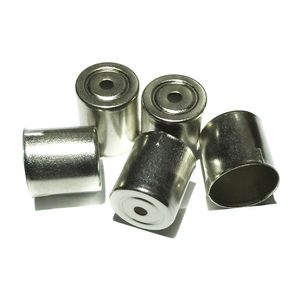 5Pcs/Lot Magnetron Steel Cap Microwave Oven Replacement Small Round Hole Silver Tone Home Kitchen Appliance Parts Accessories