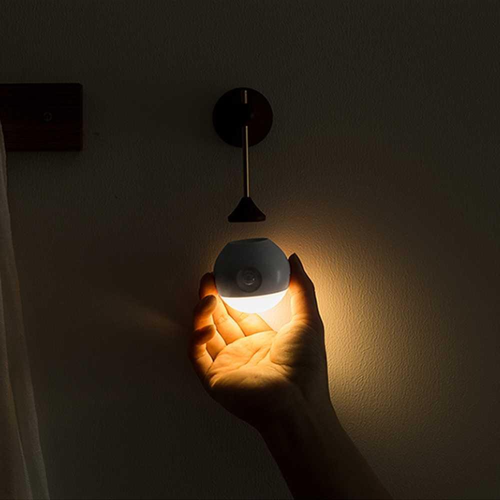 Luce Di Notte.Xiaomi Youpin Sothing Luce Di Notte Intelligente Sensore A Infrarossi Portatile Di Induzione Di Ricarica Usb Rimovibile Lampada Di Notte Xiaomi Smart