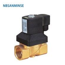 NBSANMINSE Diaphragm Solenoid Valve 1/4 3/8 1/2 3/4 1 inch high pressure High temperature KL22M-08