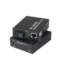 Fiber Optical Communication Equipment 10/100/1000M Media Converter Fast Ethernet fiber optic transceivers 1000Mbps SC port 25KM