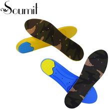 Breathable Running Insole Perforated Prevent Odors Insoles Shock Absorption Insoles For Men Women Cushion Sore Foot Pain Relieve