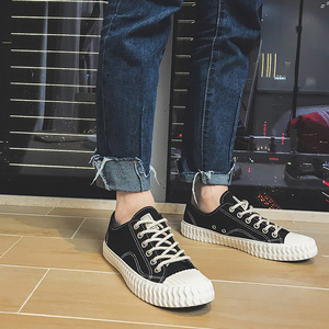 Image 4 - CeLai men shoes 2020 new green lace up canvas shoes male spring and summer casual shoes man student male sneakers krasovki A 011