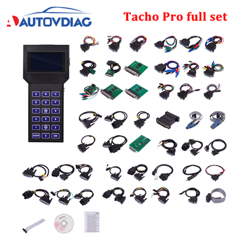 Hot Tacho Pro 2008 full set cable Main Unit Universal Dash Programmer Odometer Correction Speedometer Change Tacho Pro 2008