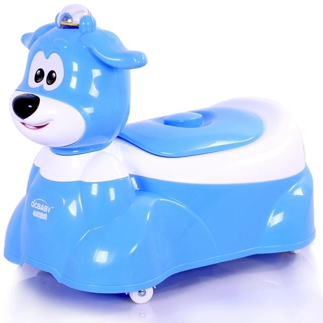 Varejo Forma Cão Dos Desenhos Animados Do Bebê do Treinamento do Potty Potty Cadeira Crianças Removível Fezes Assento Do Vaso Sanitário Assento de Segurança para Crianças