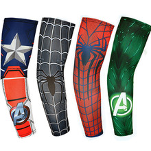 1 pair of outdoor sunscreen cuffs summer icy anti-UV ice silk sleeves sports driving riding arm guards fishing sleeves