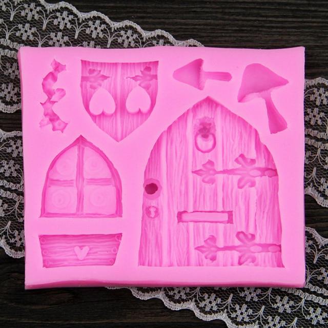 tienda online casa de diseo de dibujos animados diy del silicn d molde de pastel de fondant decoracin moldes de la torta de de cocina ct with disear cocina