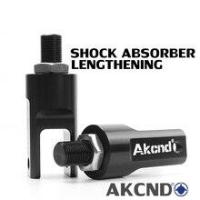 AKCND オートバイショックアブソーバー延長ヘッド変換フォークラウンドヘッドインタフェース