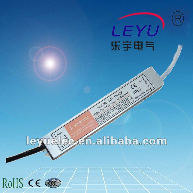 цена на 18W 48V AC DC waterproof function LED driver LDV-18W single output switching power supply made in China