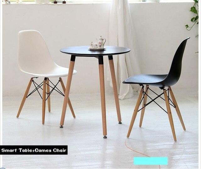 Madera sólida envío gratis mesas de comedor y sillas combinación ...
