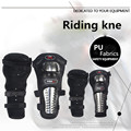 4 Pcs/Set Stainless Motorcycle Protective kneepad Steel ATV Racing Protective Gear Knee Motorcycle Elbow Shin Pad Cap Guards