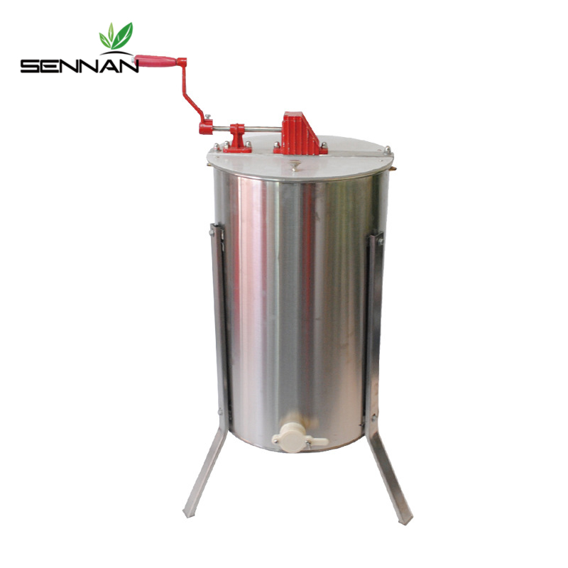 SenNan Beekeeping Equipment Stainless Steel Shake Honey Machine Manual Honey Extraction Tool Honey Processing Apicultura