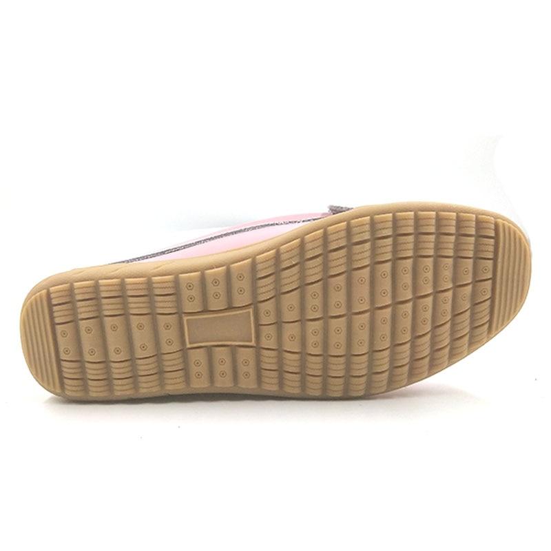 Zapatos Verano Planos H93 Vtota Pisos baisewukong Mujer Loafters Para nudo rosado Zapatillas Mariposa Mujeres blanco Azul Las Casual qqE84w
