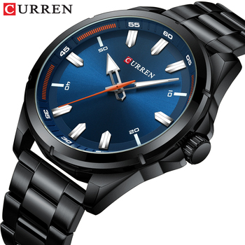 CURREN 8320 Fashion Casual Business Watches Men Date Waterproof Quartz Mens Watch With Box
