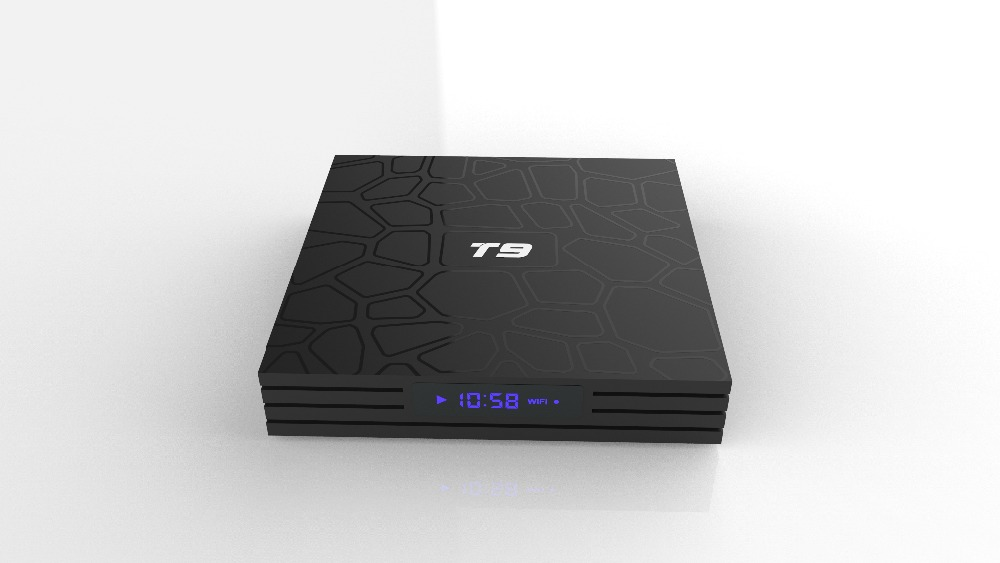 Caja de TV T9 Android 8,1 Bluetooth Rockchip RK3328 4 GB de RAM 32 GB/64 GB 4 K Google Player apoyo 2,4 GHz WiFi HD 4 K Smart Set top box - 3