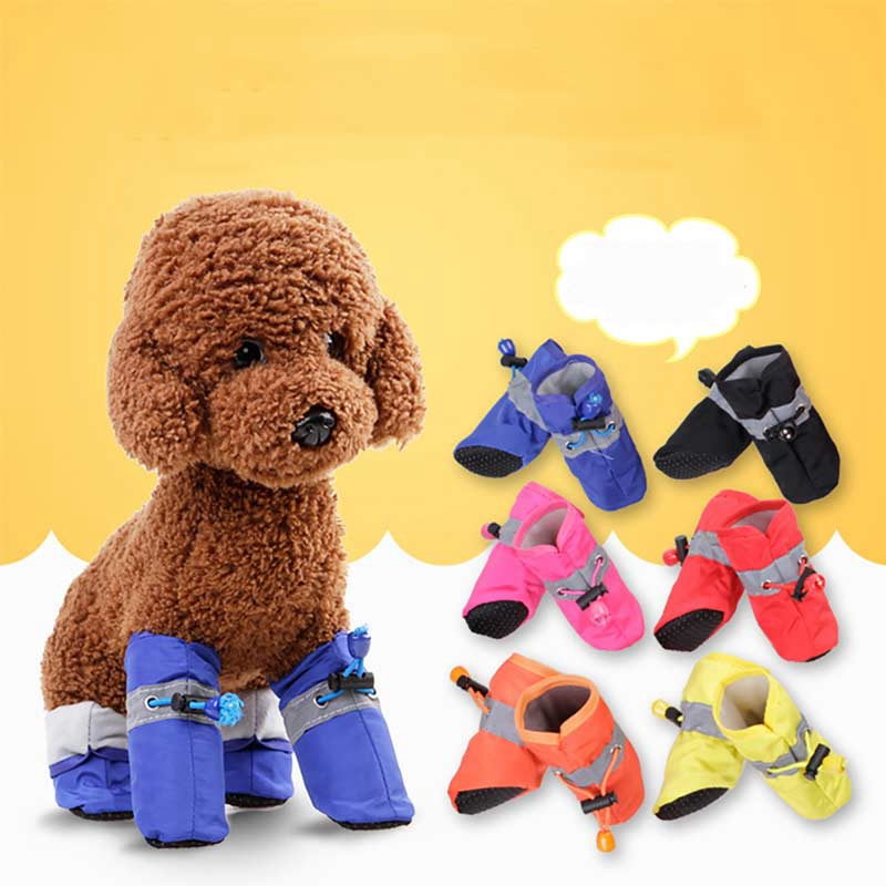 High Quality Anti Slip Boots For Small Dogs Chihuahua Pomeranian Pug Shih Tzu