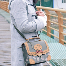 Musical Note Embroidery Backpack