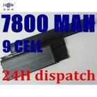 HSW 7800mAh Laptop Battery For Dell Latitude D620 D630 D631 M2300 KD491 KD492 KD494 KD495 NT379 PC764 PC765 PD685 RD300 TC030