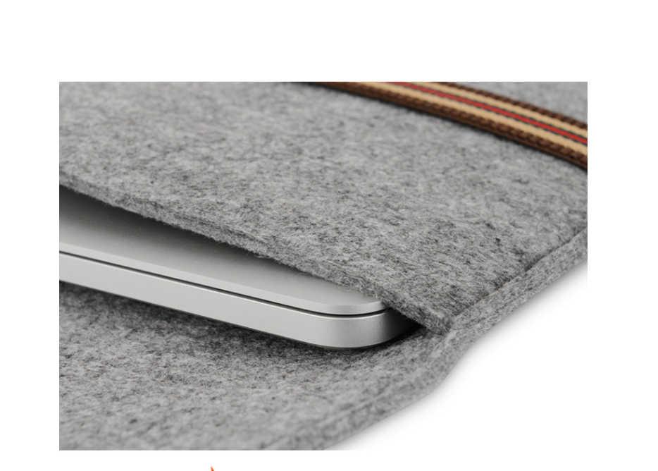 Nieuwe Soft Sleeve Bag Case Voor Apple Macbook Air Pro Retina 11 13 Laptop Anti-scratch Cover Voor Mac boek 13.3 inch