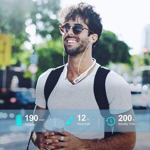 Image 5 - פעיל רעש מבטל אוזניות אלחוטי Neckband אוזניות Bluetooth ב אוזן קל משקל עמיד למים אוזניות באינטרנט כנס
