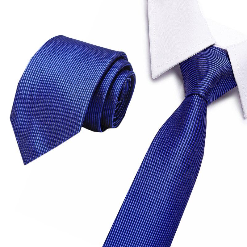 Fashion Quality Slim Tie 8cm Black Gray Skinny Blue Gravata Silk Jacquard Woven Neckties For Men Wedding Party Groom