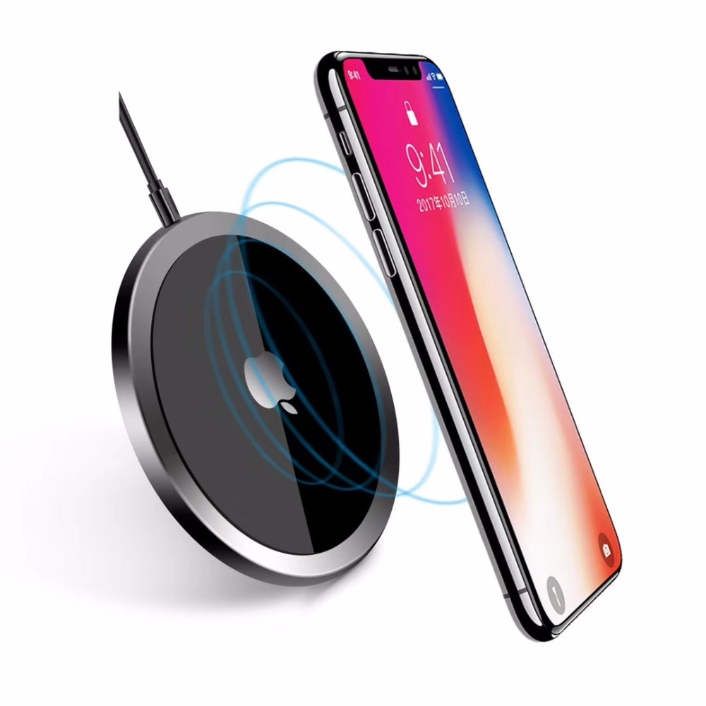 wireless charger charging for phone adapter quick charge 3.0 QC iphone X 8 8s samsung s7 s8 fast auto universal QI without wire