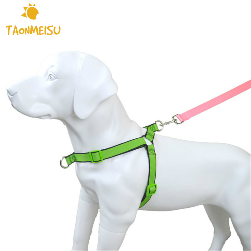 Dual use Dog Chest Strap Harness Back Belt for Pet Easy Walking the Dog Adjustable function dual use dog chest strap harness back belt for pet easy walking the