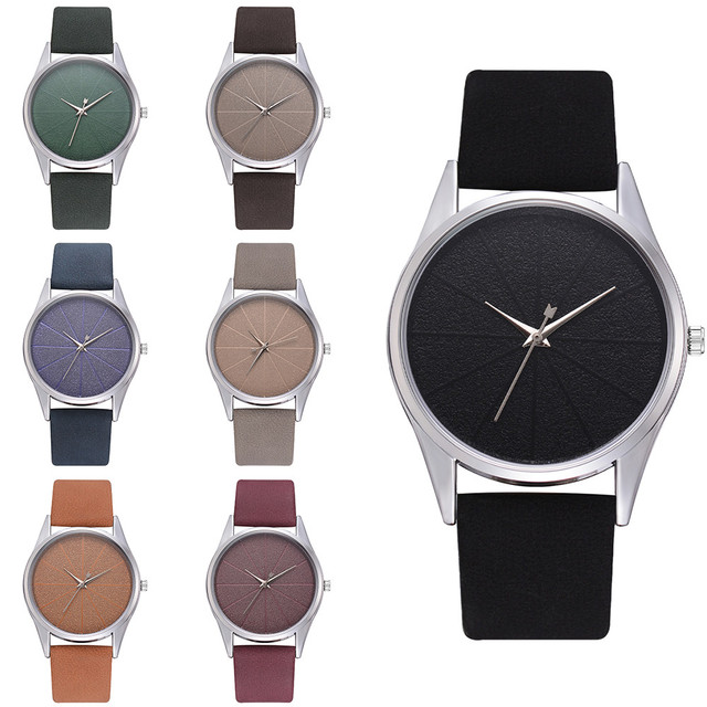 Fashion Silicone Strap Quartz Casual Luxury Women's Ladies Exquisite Minimalism