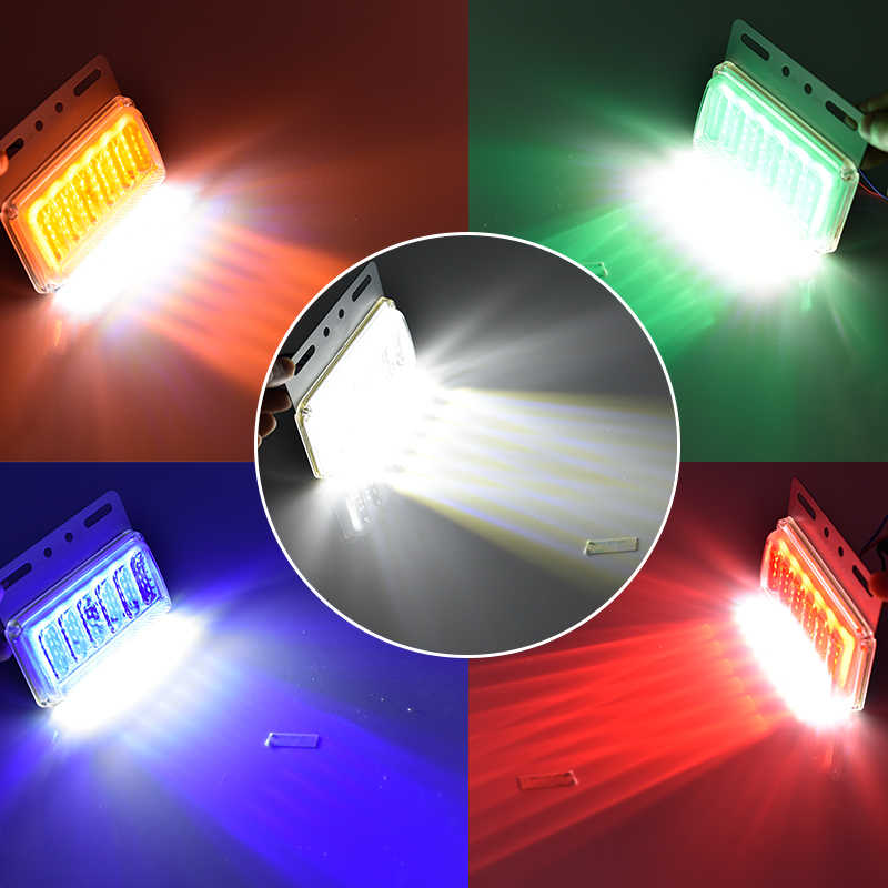 CNSUNNYLIGHT 24V LED Turn Signal Light 6D Side Clearance Lamp Tail Reverse Truck Trailer Lorry Van Warning Fog Parking Lighting