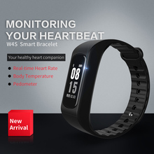 Для тела Температура сердечного ритма Мониторы Smart Band OLED Вибрационный сигнал Montres Поддержка удаленного музыка usb для IOS андроиды браслет