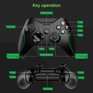 Image 5 - DATA FROG 2.4G Wireless Controller For Xbox One Console For PS3 For Android Phone Gamepads Game Joysticks For PC Win7/8/10