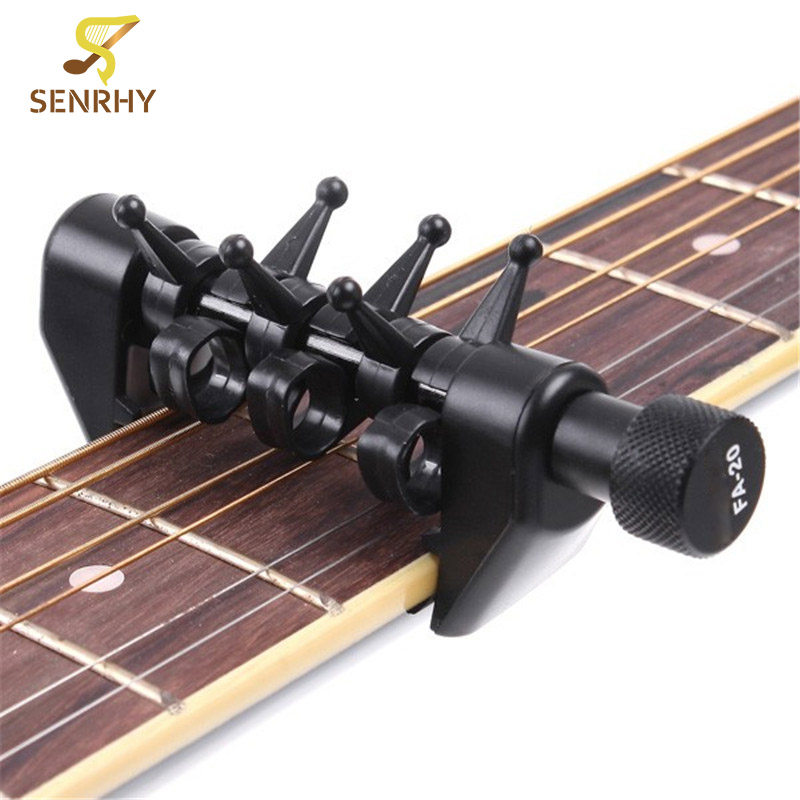 buy senrhy fa20 portable electric guitar tuning capo acoustic flexi capo for. Black Bedroom Furniture Sets. Home Design Ideas