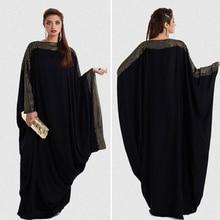 plus size S~6XL quality latest arab elegant abaya kaftan islamic fashion muslim dress clothing design women black dubai abaya