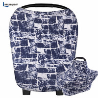 Multi-Use Nursing Breastfeeding Cover Scarf Baby Car Seat Canopy Canopies Shopping Cart Stroller cotton Cover for baby boy girl