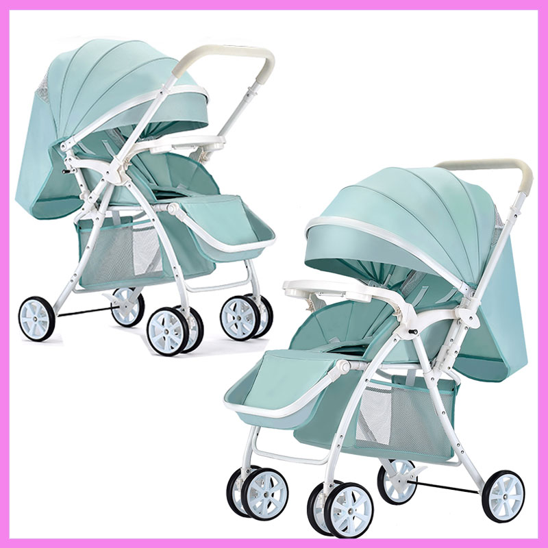 Portable Lightweight Baby Stroller Folding Buggy Pram Child Umbrella Car Baby Carriage Travel Airplane Pushchair Wheelchair 0~3Y quick folding small portable baby stroller folding umbrella wheelchair baby carriage travel system car baby trolley pram 0 3y