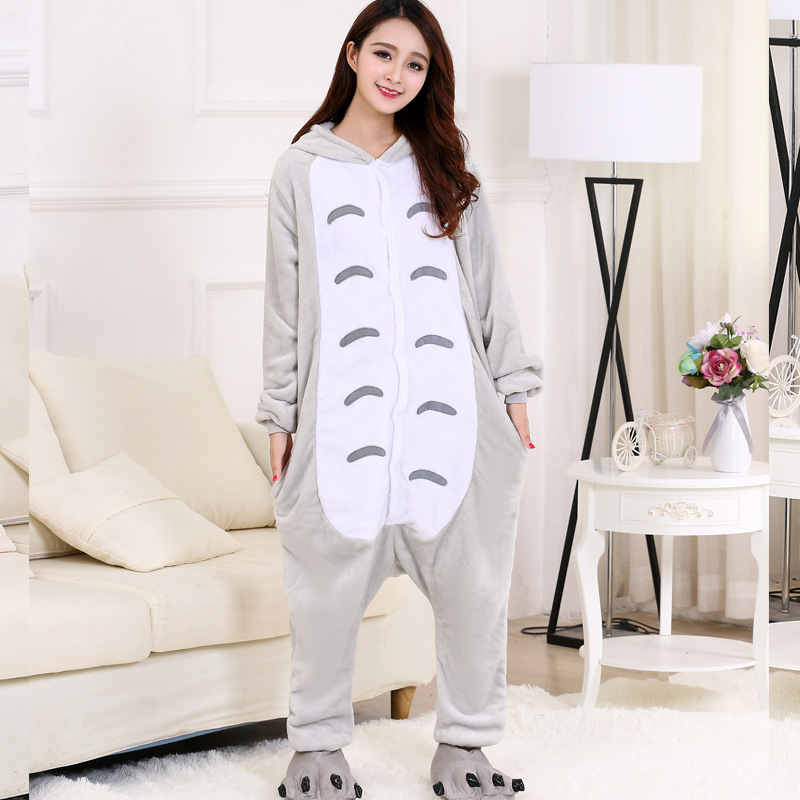 Totoro adult kigurumi for cosplay party (2)